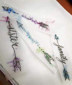 Ideas to turn my little arrow into a big badass arrow - - Tattoo Ideas Arrow Tattoos For Women, Dragon Tattoo For Women, Tattoos For Kids, Trendy Tattoos, Cute Tattoos, Flower Tattoos, Body Art Tattoos, Small Tattoos, Word Tattoos