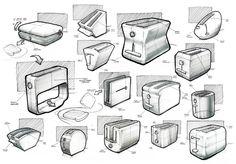 Sketches 2012 by Nicholas Baker, via Behance.