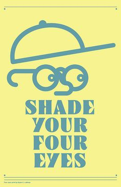 Your Four eyes by ≠ Design, via Flickr