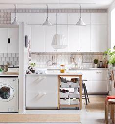 nuevo catalogo IKEA - cocina blanca