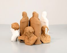 Figures from local Israeli clay and porcelain Ceramic Materials, Objects, Photograph, Porcelain, Clay, Ceramics, Space, Gallery, Photography