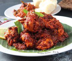 Roast Chicken Recipes, Marinated Chicken, Tandoori Chicken, Spicy Recipes, Curry Recipes, Cooking Recipes, Spicy Almonds, Red Curry Chicken, Prawn Dishes