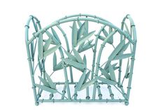 Vintage Metal Faux Bamboo Magazine Rack Made in France Vintage Metal, Vintage Items, Vancouver House, Faux Bamboo, Made In France, Decoration, Wrought Iron, Magazine Rack, This Or That Questions