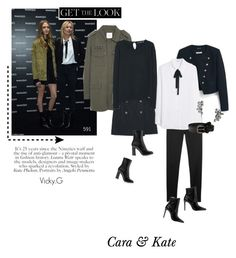 """""""Set # 591 /  Get the Look : Cara & Kate at  Mango store opening in Milan"""" by vassiliki-g ❤ liked on Polyvore featuring MANGO"""