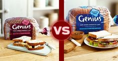 Which @geniusglutenfree #glutenfree bread is your favourite? We love the Triple seeded the most, but both are very good.