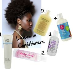 Natural Hair Summer Leave-in Conditioners