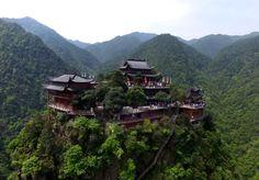 Niutou Mountain (牛头山), east China's Zhejiang Province. via FB by Discover China