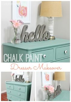 Pros and cons to working with chalk paint. My honest opinion on some chalk paint brands.