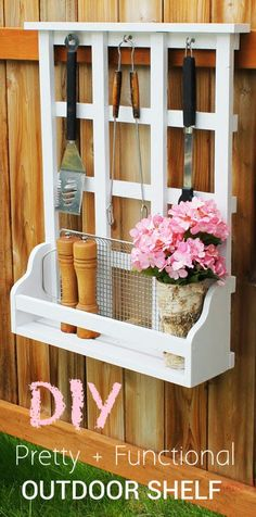 Build a Outdoor Window Shelf with Lattice! Free and Easy DIY Project and Furniture Plans by Ana White