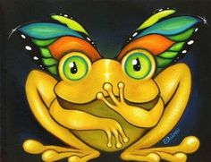 winged frog for my angel frog boy :)