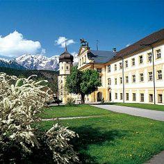 Zisterzienser Stift Stams Salzburg, Austria, Lush, Mansions, Landscape, Architecture, House Styles, Buildings, Board