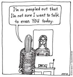 Being an introvert in an extrovert's world is tiring. Some people just don't understand how wonderful it is to get away from people, lock the front door and watch Netflix until the weekend is over. While an extrovert obtains gratification from the outside world, an introvert prefers their own company and spends less time in […]