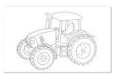 Laubsägevorlage Traktor, 1Stück Holzartikel kaufen