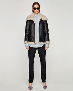 ZARA - WOMAN - AVIATOR JACKET