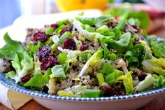 Cranberry Quinoa Salad with Dairy-Free Caesar Dressing via @TheHealthyApple #gf #vegan http://thehealthyapple.com/2012/11/12/cranberry-quinoa-salad-with-dairy-free-caesar-dressing/#
