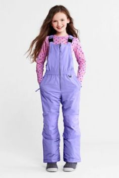 ORDERED Girls' Waterproof Squall® Snow Bibs from Lands ...