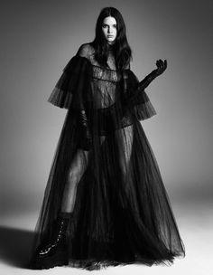 Американская модель Кендалл Дженнер в Vogue