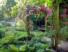The Courtyard Garden, Chicago Botanic Garden