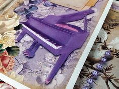 'Purple Reign' Printable Collection - New At EVG