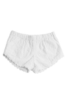 Peek 'Tulum' Embroidered Shorts (Baby Girls) available at #Nordstrom