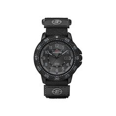 Timex Men's Expedition T49997 Black Cloth Analog Quartz Watch -- You can find out more details at the link of the image.
