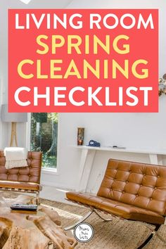 Living space spring cleaning checklist This is my living spaces spring cleaning checklist, it is part of my EASY ONE DAY SPRING CLEANING CHECKLISTS series. This checklist deals with all the living spaces in. Clean Living Rooms, Living Spaces, Spring Cleaning Checklist, Kids Checklist, Clean Bed, Home Organisation, Organization, Cleaning Hacks, Cleaning Schedules