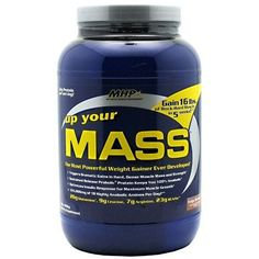 MHP UP YOUR MASS PROTEIN POWDER 2 LB - Fudge Brownie, $19.99