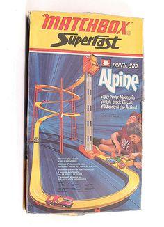 Matchbox Superfast - Track 900 Alpine Set