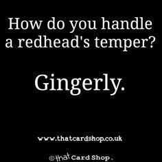 Wednesday morning funny  http://ift.tt/2jTkkT0 #funnymeme #comedy #ginger #greetingscard #funnycards #thatcardshop #captaincardmansays #joke #funny #meme