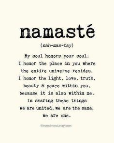 Namaste -Yoga Class Anyone?