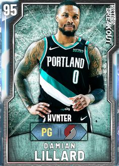 User created NBA Damian Lillard card, made using the custom card creator Mvp Basketball, Basketball Stuff, Basketball Cards, Damian Lillard, Card Creator, Player Card, Nba Draft, Portland Trailblazers, Better Than Yours