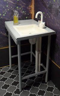 Tarja's Crafts: 1/6 scale bar furniture - more inspiration.