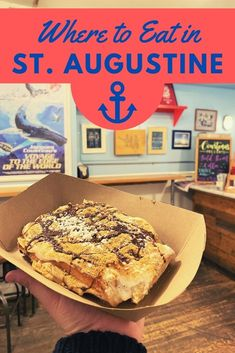 The Best St. Augustine Restaurants for 2021 - The Florida Travel Girl Florida Food, Florida Travel, Florida Vacation, Central Florida, St Augustine Restaurants, Taco Shop, Delicious Restaurant, Beef Short Ribs, Vegetarian Options