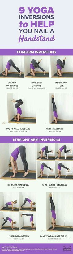 Yoga Inversions to help with Handstands