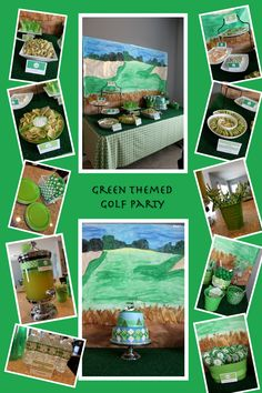 Green Theme Golf Party