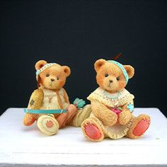 Cherished Teddies Native American Indian by AtticDustAntiques, $14.00