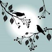 Bird_on_branch : Birds on the branch. Summer days - 2d