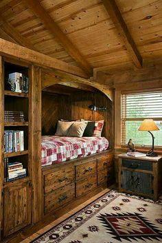 This Gorgeous Georgia Cabin Puts Log Homes Everywhere to Shame ...