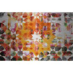 Parvez Taj Zinn Art Print on Brushed Aluminum, Size: 36 inch x 24 inch, Multicolor
