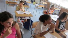 A la classe