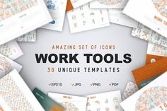 Work Tools Concept by Blogoodf on @creativemarket
