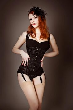 Redheadiness and corset, the two thing you cannot resist :)    Photo: Nightshadow-Photoart