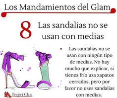 Mandamiento del Glam 8