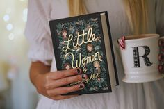 Book cover (Rifle Kid's Classics by Rifle Paper Co) of Little Women by Louisa May Alcott #louisamayalcott - Classic Children's Books Re-imagined by Artist Anna Bond