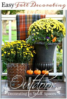 OUTDOOR FALL DECORAT