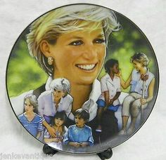 Princess Diana Commemorative Plate