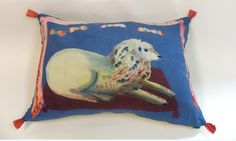 Rose de Borman pillow