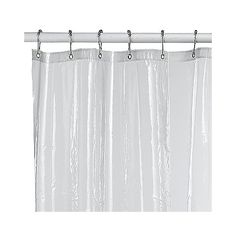This Soft Sensations™ pure 100% EVA vinyl shower stall liner is free of chlorine and is allergy-resistant.