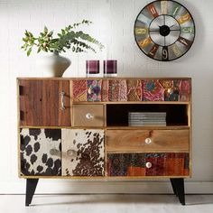 This beautifully designed Sorio Reclaimed Wood Sideboard. Wooden Sideboard made using Reclaimed Wood. Handmade Wood Furniture, Industrial Design Furniture, Reclaimed Wood Furniture, Upcycled Furniture, Furniture Projects, Furniture Makeover, Painted Furniture, Furniture Making, Industrial Living