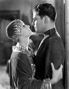 Ramón Novarro and Greta Garbo in Mata Hari